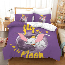 Load image into Gallery viewer, Dumbo #12 Duvet Cover Quilt Cover Pillowcase Bedding Set Bed Linen Home Bedroom Decor