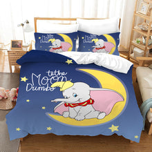 Load image into Gallery viewer, Dumbo #13 Duvet Cover Quilt Cover Pillowcase Bedding Set Bed Linen Home Bedroom Decor