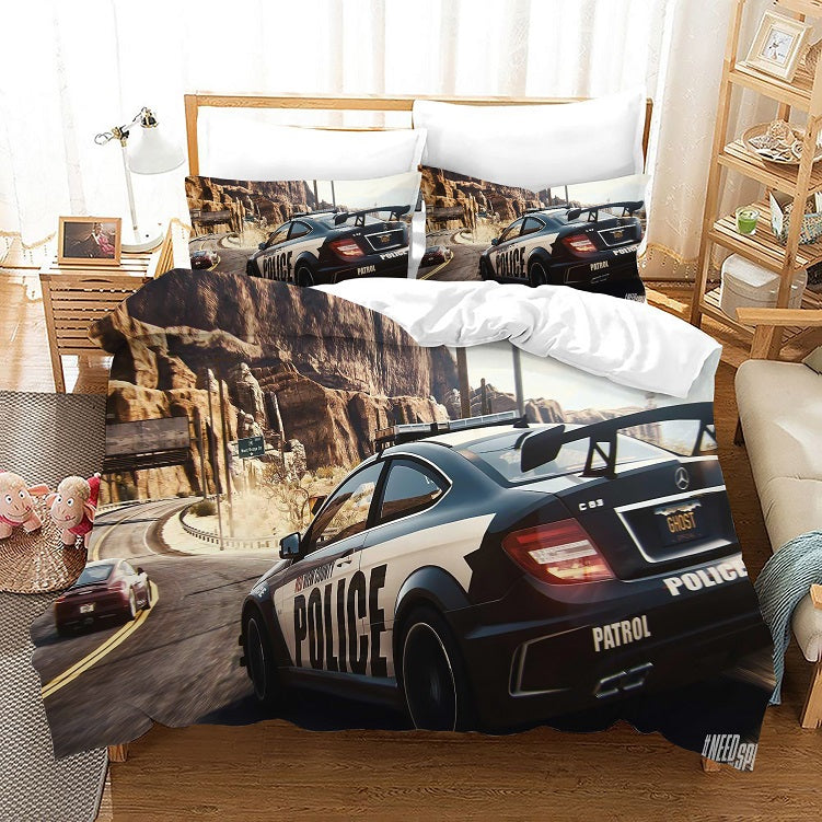 Need for Speed #13 Duvet Cover Quilt Cover Pillowcase Bedding Set Bed Linen Home Bedroom Decor