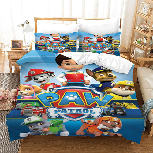 PAW Patrol Marshall #43 Duvet Cover Quilt Cover Pillowcase Bedding Set Bed Linen Home Decor