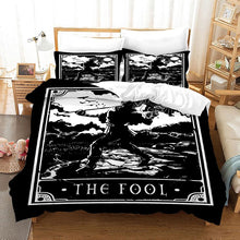Load image into Gallery viewer, TAROT The Fool #13 Duvet Cover Quilt Cover Pillowcase Bedding Set Bed Linen Home Bedroom Decor