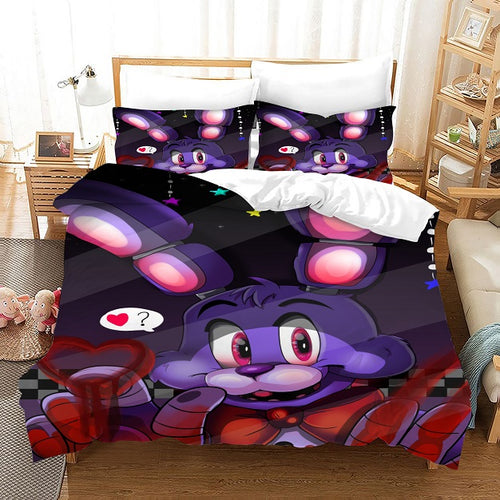 Bendy And The Ink Machine #54 Duvet Cover Quilt Cover Pillowcase Bedding Set Bed Linen Home Bedroom Decor