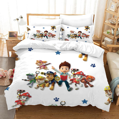PAW Patrol Marshall #45 Duvet Cover Quilt Cover Pillowcase Bedding Set Bed Linen Home Decor