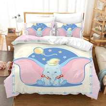 Load image into Gallery viewer, Dumbo #15 Duvet Cover Quilt Cover Pillowcase Bedding Set Bed Linen Home Bedroom Decor