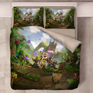 Minecraft #45 Duvet Cover Quilt Cover Pillowcase Bedding Set Bed Linen Home Decor
