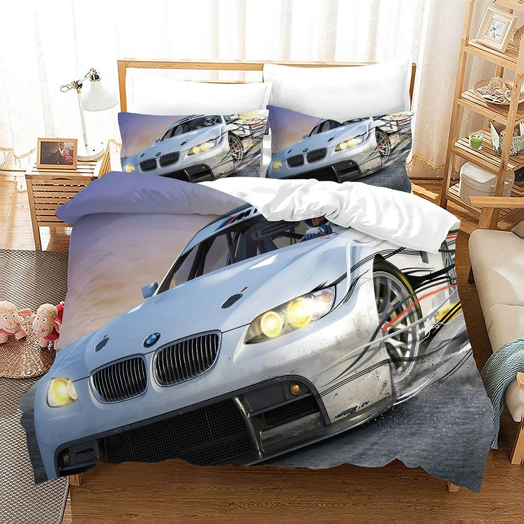 Need for Speed #16 Duvet Cover Quilt Cover Pillowcase Bedding Set Bed Linen Home Bedroom Decor