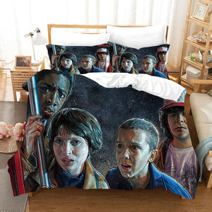 Stranger Things Season 1 #16 Duvet Cover Quilt Cover Pillowcase Bedding Set
