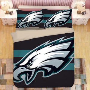 Philadelphia Eagles NFL #23 Duvet Cover Quilt Cover Pillowcase Bedding Set Bed Linen Home Bedroom Decor