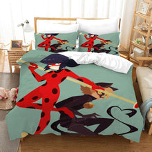 Load image into Gallery viewer, Miraculous Ladybug Cat Noir #25 Duvet Cover Quilt Cover Pillowcase Bedding Set Bed Linen Home Bedroom Decor