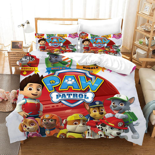 PAW Patrol Marshall #46 Duvet Cover Quilt Cover Pillowcase Bedding Set Bed Linen Home Decor