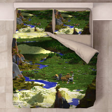 Load image into Gallery viewer, Minecraft #47 Duvet Cover Quilt Cover Pillowcase Bedding Set Bed Linen Home Decor