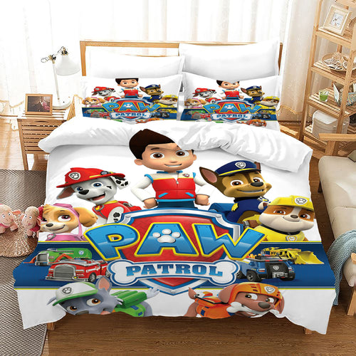PAW Patrol Marshall #48 Duvet Cover Quilt Cover Pillowcase Bedding Set Bed Linen Home Decor