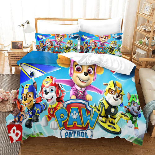 PAW Patrol Marshall #49 Duvet Cover Quilt Cover Pillowcase Bedding Set Bed Linen Home Decor