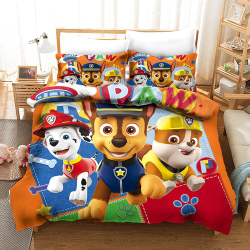 PAW Patrol Marshall #18 Duvet Cover Quilt Cover Pillowcase Bedding Set Bed Linen Home Decor