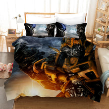 Load image into Gallery viewer, Transformers #9 Duvet Cover Quilt Cover Pillowcase Bedding Set Bed Linen Home Decor