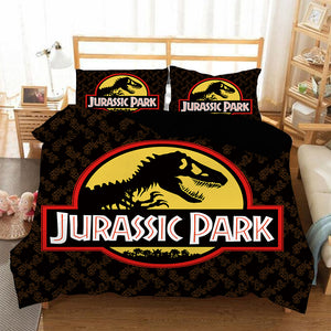 Jurassic World #2 Duvet Cover Quilt Cover Pillowcase Bedding Set Bed Linen Home Bedroom Decor