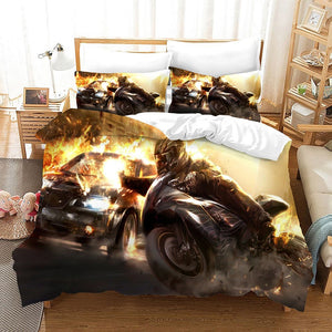 Need for Speed #1 Duvet Cover Quilt Cover Pillowcase Bedding Set Bed Linen Home Bedroom Decor