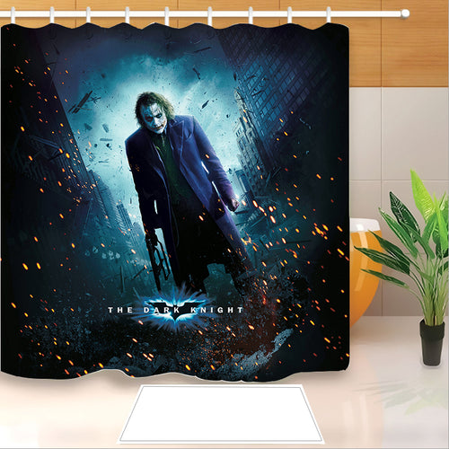 2019 Joker Arthur Fleck Clown #15 Shower Curtain Waterproof Bath Curtains Bathroom Decor With Hooks