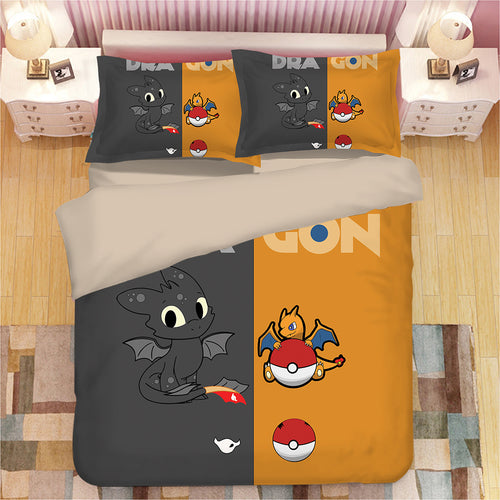 How to Train Your Dragon Hiccup #22 Duvet Cover Quilt Cover Pillowcase Bedding Set Bed Linen