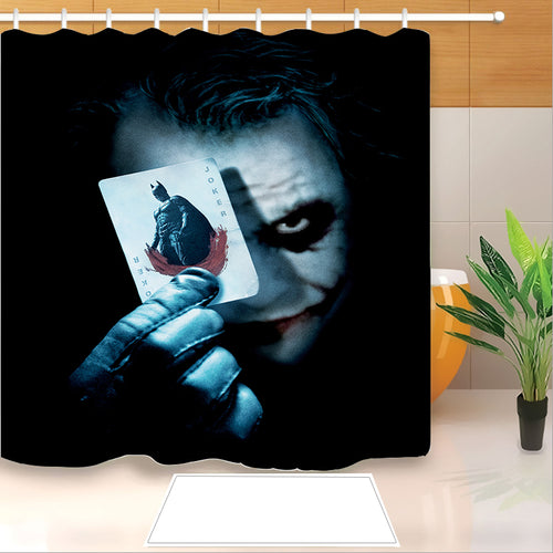 2019 Joker Arthur Fleck Clown #16 Shower Curtain Waterproof Bath Curtains Bathroom Decor With Hooks