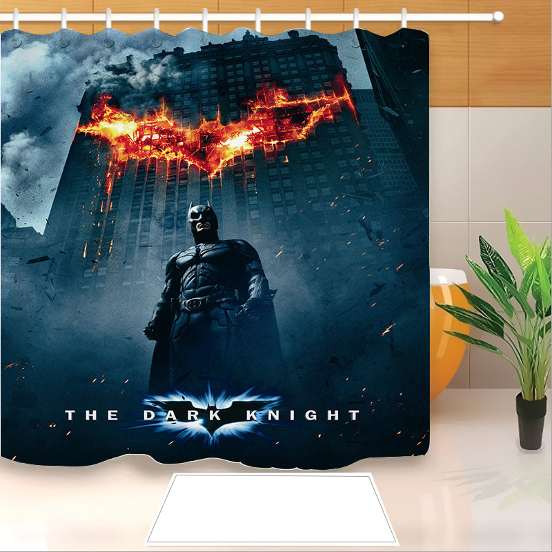Batman #12 Shower Curtain Waterproof Bath Curtains Bathroom Decor With Hooks