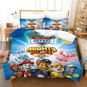 PAW Patrol Marshall #31 Duvet Cover Quilt Cover Pillowcase Bedding Set Bed Linen Home Decor