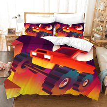 Load image into Gallery viewer, Monster Truck #5 Duvet Cover Quilt Cover Pillowcase Bedding Set Bed Linen Home Bedroom Decor