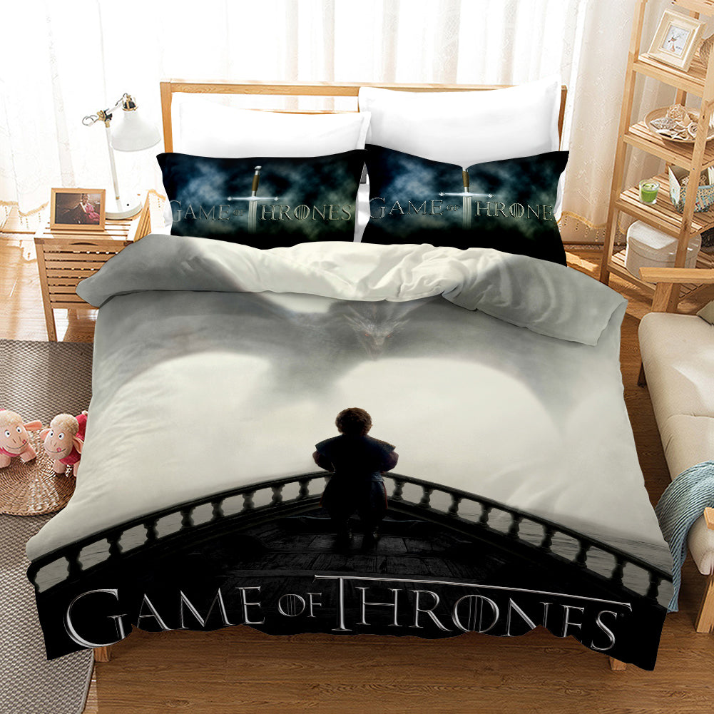 Game of Thrones Tyrion Lannister #36 Duvet Cover Quilt Cover Pillowcase Bedding Set Bed Linen Home Decor