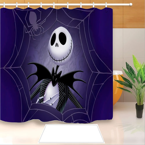 The Nightmare Before Christmas #1 Shower Curtain Waterproof Bath Curtains Bathroom Decor With Hooks