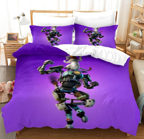 Fortnite Chapter2 Season 3 #4 Duvet Cover Quilt Cover Pillowcase Bedding Set Bed Linen Home Bedroom Decor