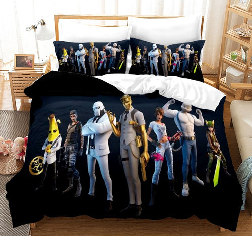 Fortnite Chapter2 Season3  #2 Duvet Cover Quilt Cover Pillowcase Bedding Set Bed Linen Home Bedroom Decor
