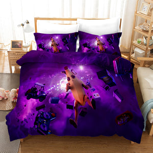 Fortnite Chapter2 Season 3 #17 Duvet Cover Quilt Cover Pillowcase Bedding Set Bed Linen Home Bedroom Decor