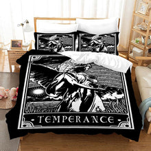Load image into Gallery viewer, TAROT Temperance #20 Duvet Cover Quilt Cover Pillowcase Bedding Set Bed Linen Home Bedroom Decor