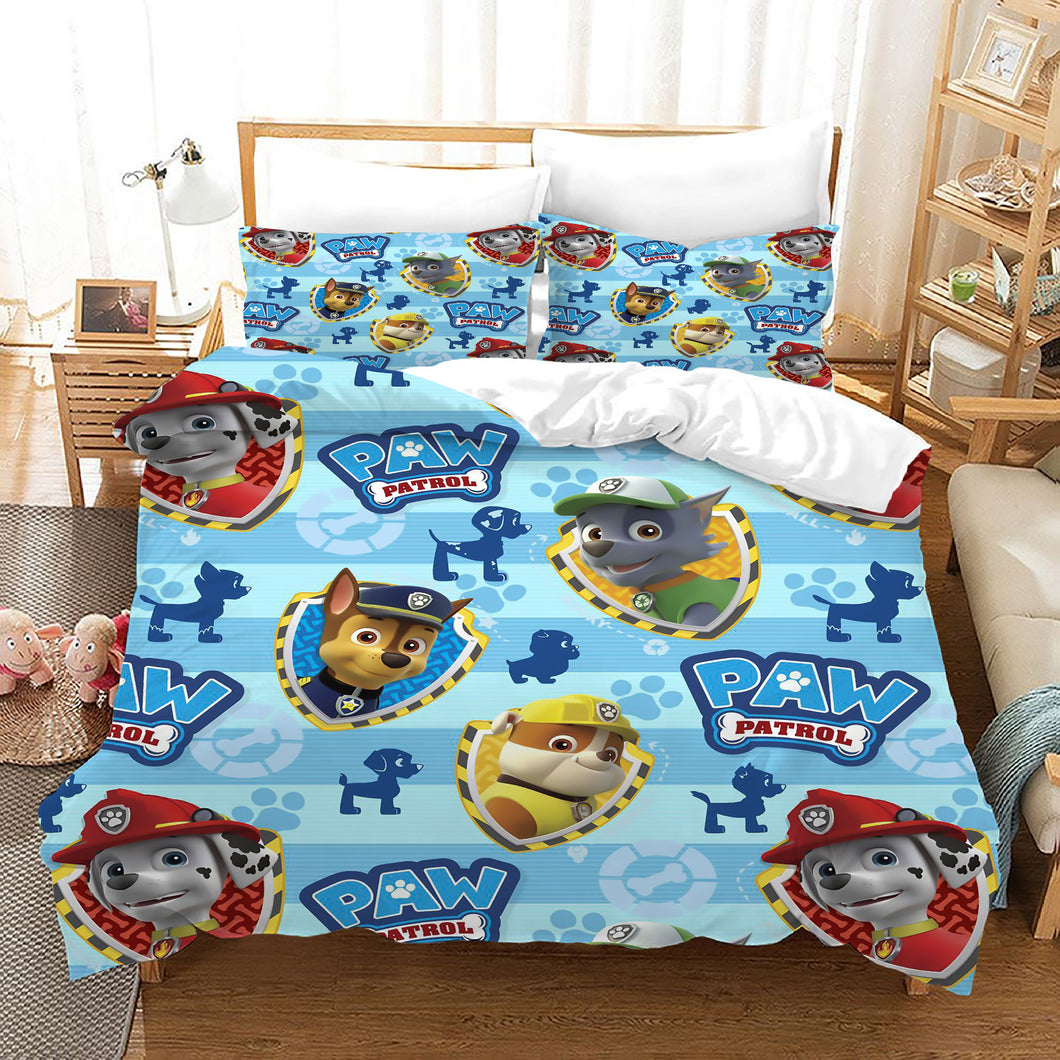 PAW Patrol Marshall #50 Duvet Cover Quilt Cover Pillowcase Bedding Set Bed Linen Home Decor