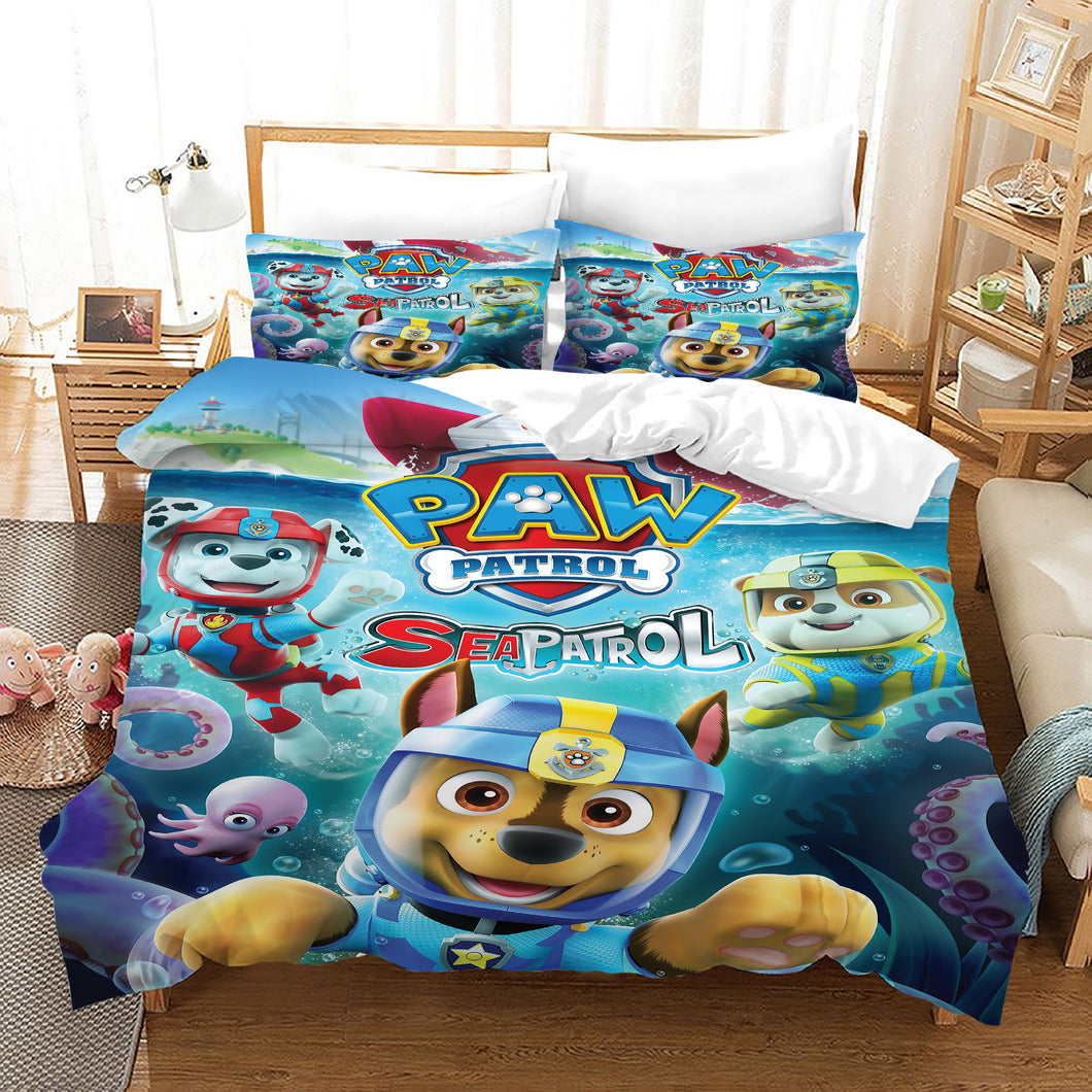 PAW Patrol Marshall #51 Duvet Cover Quilt Cover Pillowcase Bedding Set Bed Linen Home Decor