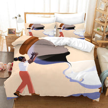 Load image into Gallery viewer, No To Racism #21 Duvet Cover Quilt Cover Pillowcase Bedding Set Bed Linen Home Bedroom Decor