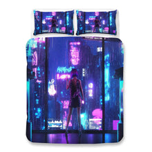 Load image into Gallery viewer, Cyberpunk 2077 #51 Duvet Cover Quilt Cover Pillowcase Bedding Set Bed Linen Home Bedroom Decor
