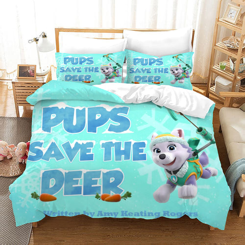 PAW Patrol Marshall #53 Duvet Cover Quilt Cover Pillowcase Bedding Set Bed Linen Home Decor