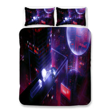 Load image into Gallery viewer, Cyberpunk 2077 #54 Duvet Cover Quilt Cover Pillowcase Bedding Set Bed Linen Home Bedroom Decor