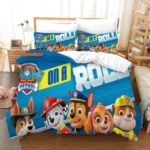 PAW Patrol Marshall #54 Duvet Cover Quilt Cover Pillowcase Bedding Set Bed Linen Home Decor