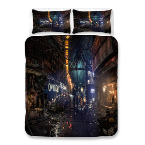 Cyberpunk 2077 #56 Duvet Cover Quilt Cover Pillowcase Bedding Set Bed Linen Home Bedroom Decor