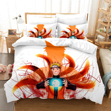 Load image into Gallery viewer, Naruto Shippūden Season 2 #28 Duvet Cover Quilt Cover Pillowcase Bedding Set Bed Linen Home Bedroom Decor