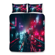 Load image into Gallery viewer, Cyberpunk 2077 #59 Duvet Cover Quilt Cover Pillowcase Bedding Set Bed Linen Home Bedroom Decor