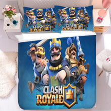 Load image into Gallery viewer, Clash of Clans #2 Duvet Cover Quilt Cover Pillowcase Bedding Set Bed Linen Home Bedroom Decor