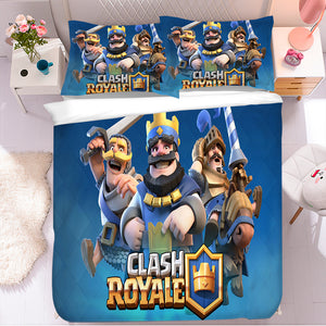 Clash of Clans #2 Duvet Cover Quilt Cover Pillowcase Bedding Set Bed Linen Home Bedroom Decor