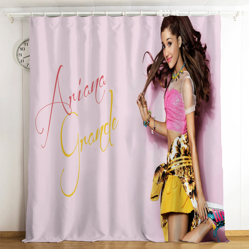 Ariana Grande #2 Blackout Curtains For Window Treatment Set For Living Room Bedroom