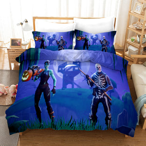 Fortnite Chapter2 Season 3 #25 Duvet Cover Quilt Cover Pillowcase Bedding Set Bed Linen Home Bedroom Decor