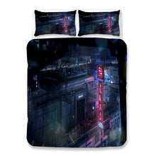 Load image into Gallery viewer, Cyberpunk 2077 #61 Duvet Cover Quilt Cover Pillowcase Bedding Set Bed Linen Home Bedroom Decor