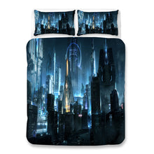 Load image into Gallery viewer, Cyberpunk 2077 #62 Duvet Cover Quilt Cover Pillowcase Bedding Set Bed Linen Home Bedroom Decor