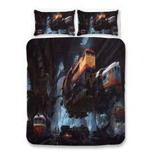 Load image into Gallery viewer, Cyberpunk 2077 #67 Duvet Cover Quilt Cover Pillowcase Bedding Set Bed Linen Home Bedroom Decor
